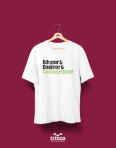 Camisa Universitária Pedagogia - Princípios - Basic