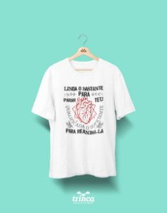 Camisa Universitária Medicina - Cardio Ela para Ela - Basic