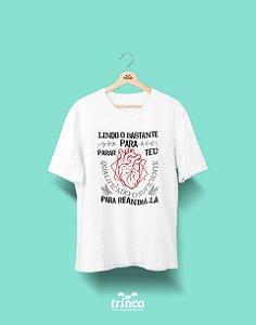 Camisa Universitária Medicina - Cardio Ele para Ela - Basic