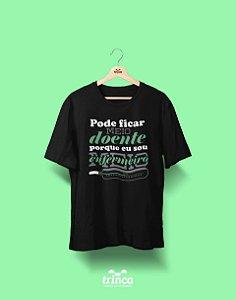 Camisa Universitária Enfermagem - Meio Doente - Basic