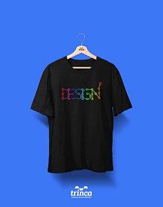 Camisa Universitária Design Gráfico - Color Pen - Basic