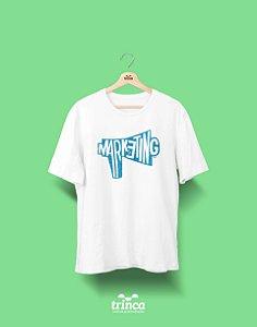 Camisa Universitária Marketing - Megafone Mark - Basic