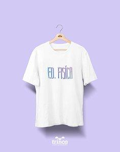 Camiseta Universitária - Tie Dye - Educação Física - Basic