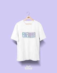 Camiseta Universitária - Tie Dye - Engenharia - Basic