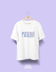 Camiseta Universitária - Psicologia - Tie Dye - Basic