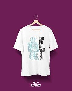 Camisa Universitária Engenharia Mecatrônica - Robô - Basic