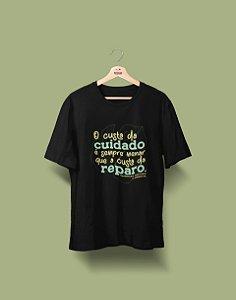Camiseta Universitária - Engenharia Ambiental - Já diz o ditado