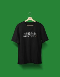 Camiseta Universitária - Biologia - Evolução - Basic