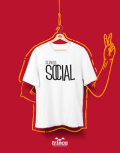 Camiseta Personalizada - Minimal - Serviço Social - Basic