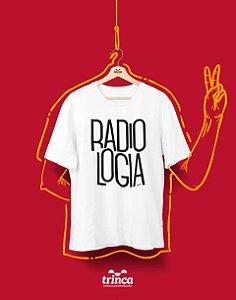 Camiseta Personalizada - Minimal - Radiologia - Basic