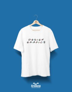 Camisa Universitária Design Gráfico - Friends - Basic