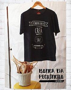 Camiseta Universitária - Engenharia - Haja fé - Basic