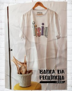 Camiseta Universitária - Fisioterapia - 90's - Basic