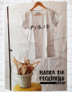 Camiseta Universitária - Fisioterapia - Friends - Basic