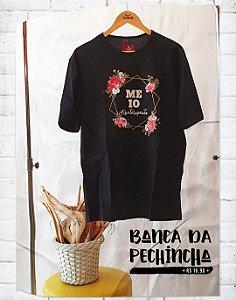 Camiseta Universitária - Fisioterapia - Meio Fisioterapeuta - Basic