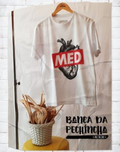 Camiseta Universitária - Medicina - Supreme - Basic