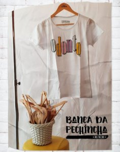 Camiseta Universitária - Odontologia - 90's - Basic