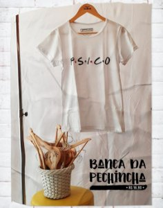Camiseta Universitária - Psicologia - Friends - Basic