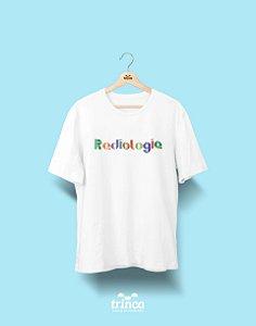 Camiseta Universitária - Radiologia - Origami - Basic