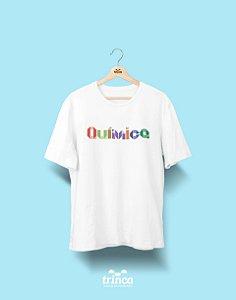 Camiseta Universitária - Química - Origami - Basic