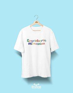 Camiseta Universitária - Engenharia Mecânica - Origami - Basic