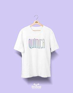 Camiseta Universitária - Química - Tie Dye - Basic