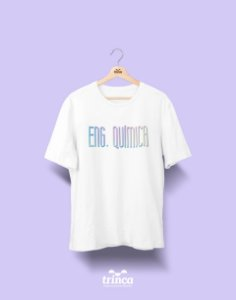 Camiseta Universitária - Engenharia Química - Tie Dye - Basic