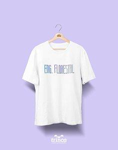 Camiseta Universitária - Engenharia Florestal - Tie Dye - Basic
