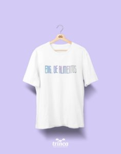 Camiseta Universitária - Engenharia de Alimentos - Tie Dye - Basic