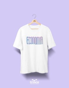 Camiseta Universitária - Economia - Tie Dye - Basic