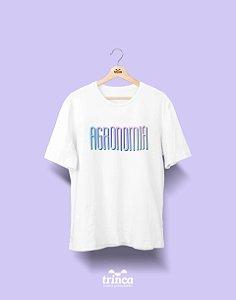 Camiseta Universitária - Agronomia - Tie Dye - Basic