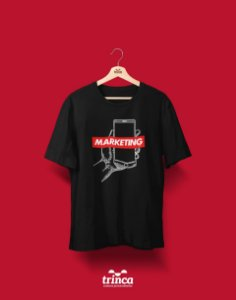 Camiseta Universitária - Marketing - Supreme - Basic