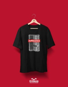 Camiseta Universitária - Matemática - Supreme - Basic
