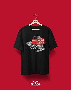 Camiseta Universitária - Educação Física - Supreme - Basic