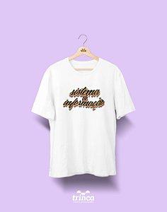 Camiseta Universitária - Sistemas de Informação - Grafite - Basic