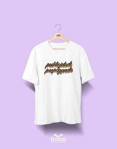 Camiseta Universitária - Publicidade e Propaganda - Grafite - Basic