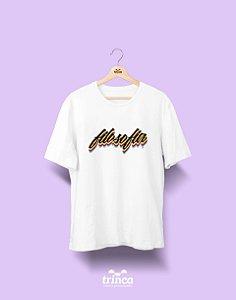 Camiseta Universitária - Filosofia - Grafite - Basic