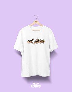 Camiseta Universitária - Educação Física - Grafite - Basic