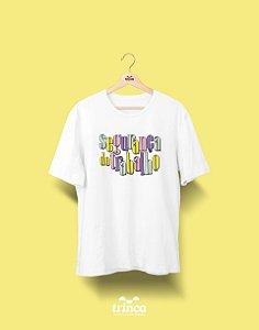 Camiseta Universitária - Segurança do Trabalho - 90's - Basic