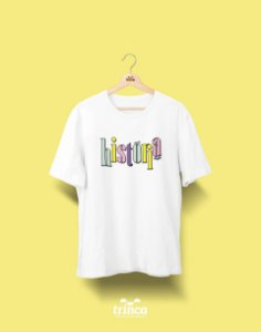Camiseta Universitária - História - 90's - Basic