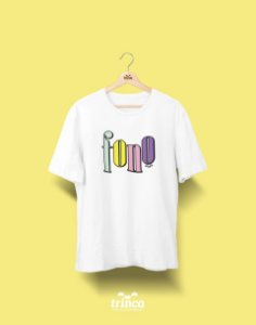 Camiseta Universitária - Fonoaudiologia - 90's - Basic