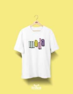 Camiseta Universitária - Design de Moda - 90's - Basic