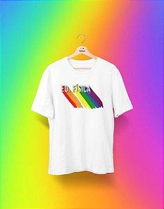 Camiseta Universitária - Educação Física - Me Orgulho - Basic