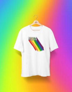Camiseta Universitária - Design de Moda - Me Orgulho - Basic