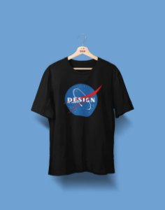 Camiseta Universitária - Design de Moda - Nasa - Basic
