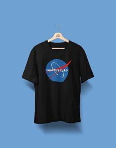 Camiseta Universitária - Ciência da Computação - Nasa - Basic