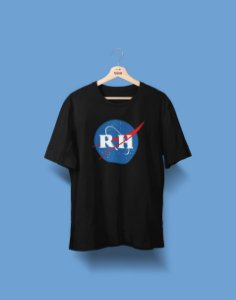 Camiseta Universitária - Recursos Humanos - Nasa - Basic