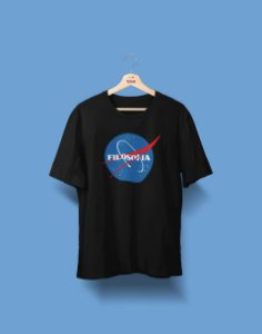 Camiseta Universitária - Filosofia - Nasa - Basic