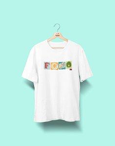 Camiseta Universitária - Fonoaudiologia - Colagem - Basic