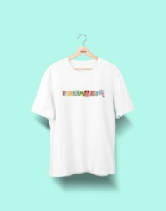 Camiseta Universitária - Farmácia - Colagem - Basic